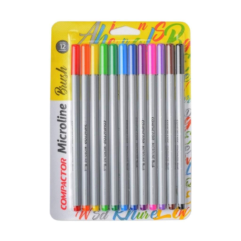 Caneta Pincel Brush Pen Microline - Compactor