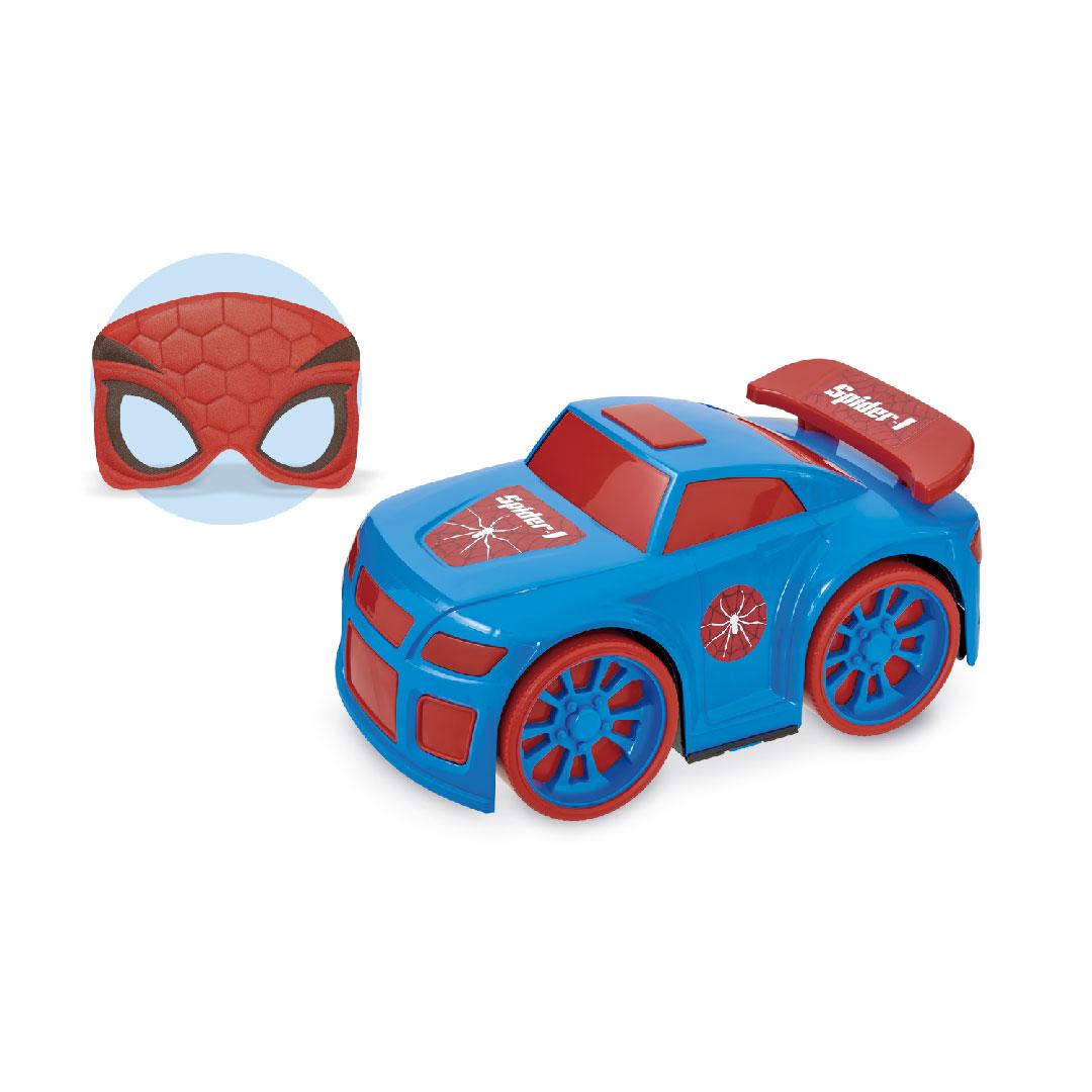 Carrinho Coleção Super Heróis Hero Time C/ Mascara - Usual