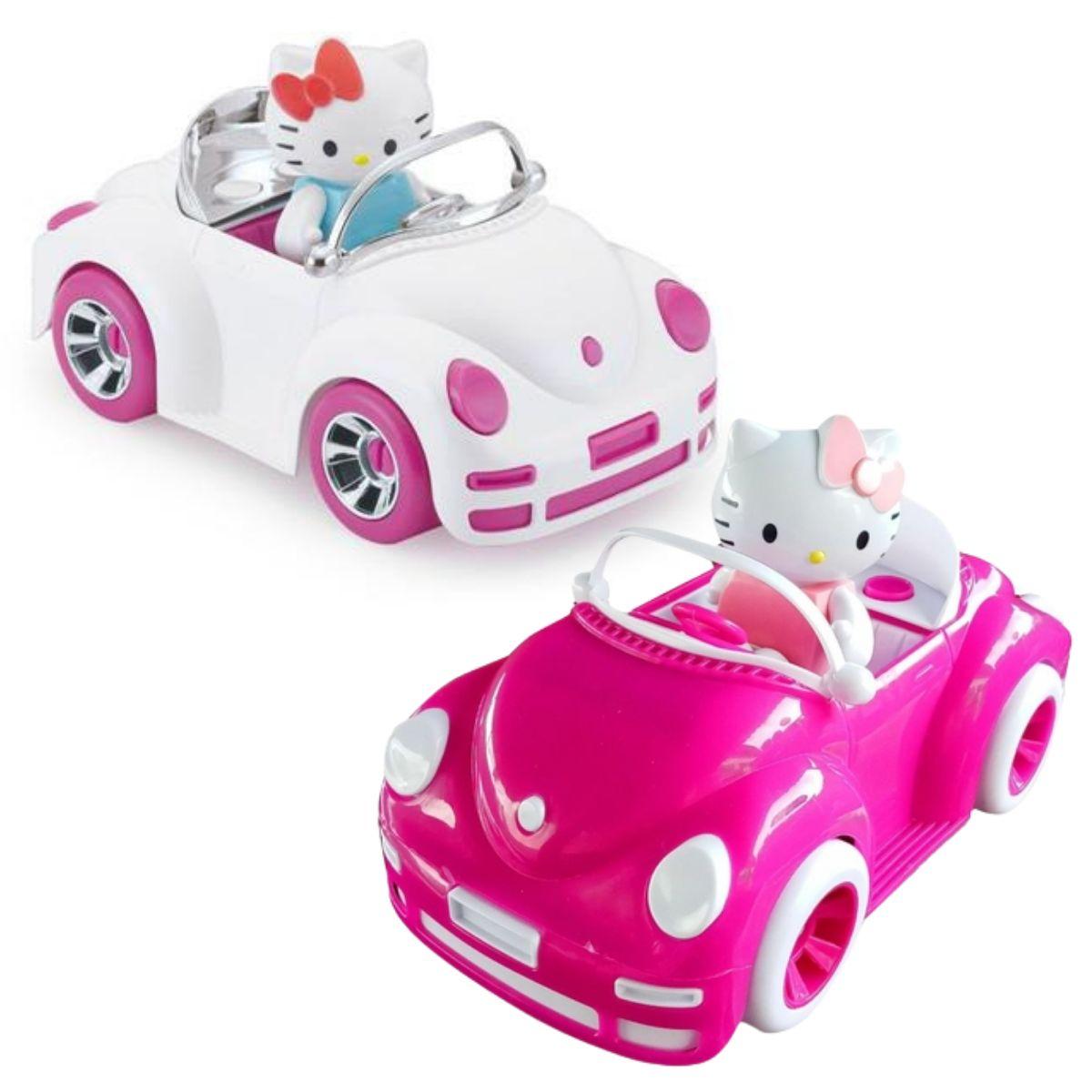 Carrinho de Brinquedo da Hello Kitty