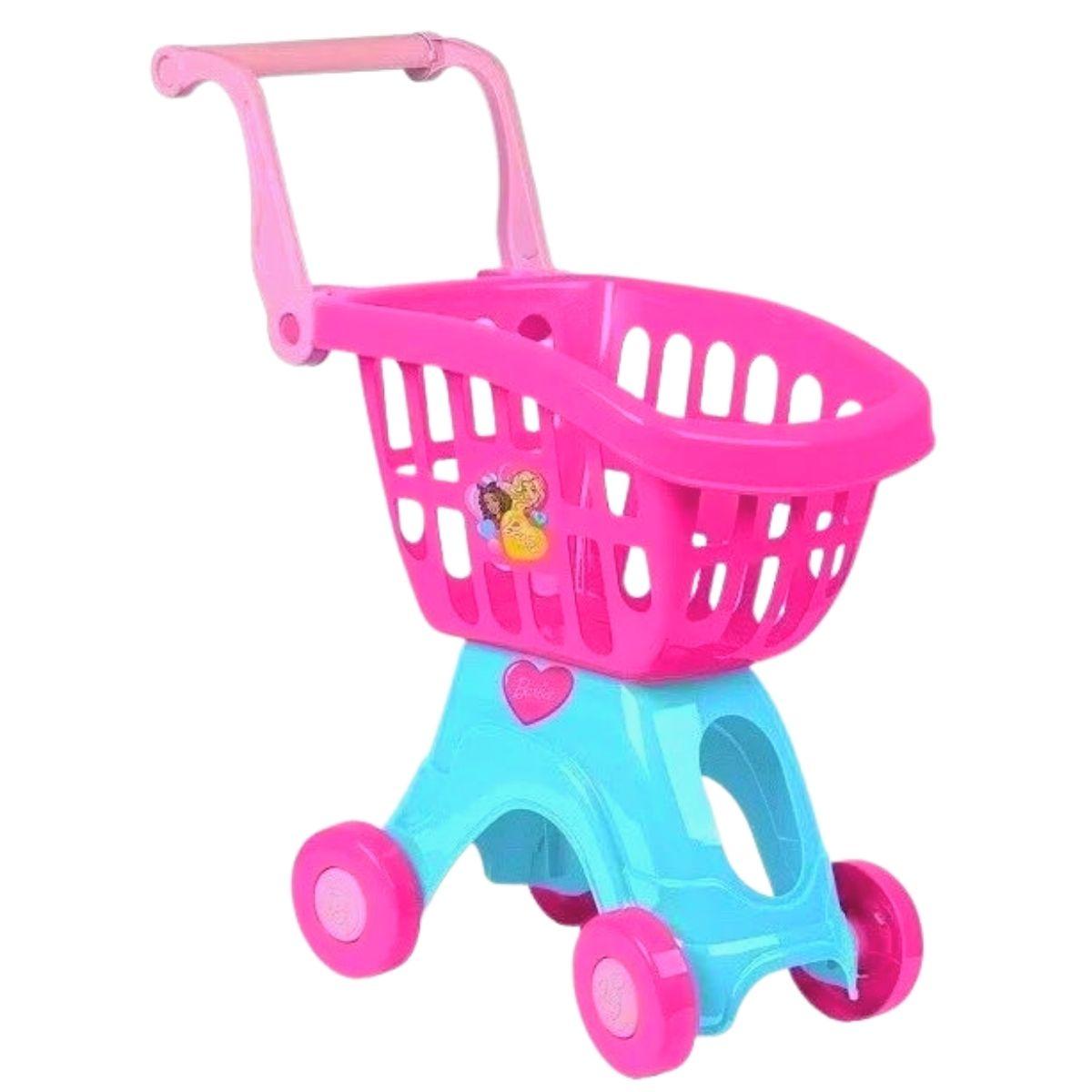 Carrinho De Compras Infantil Barbie Chef Cotiplas