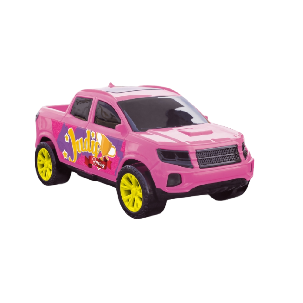 Carrinho Para Boneca Picape Rosa - Judy Samba Toys