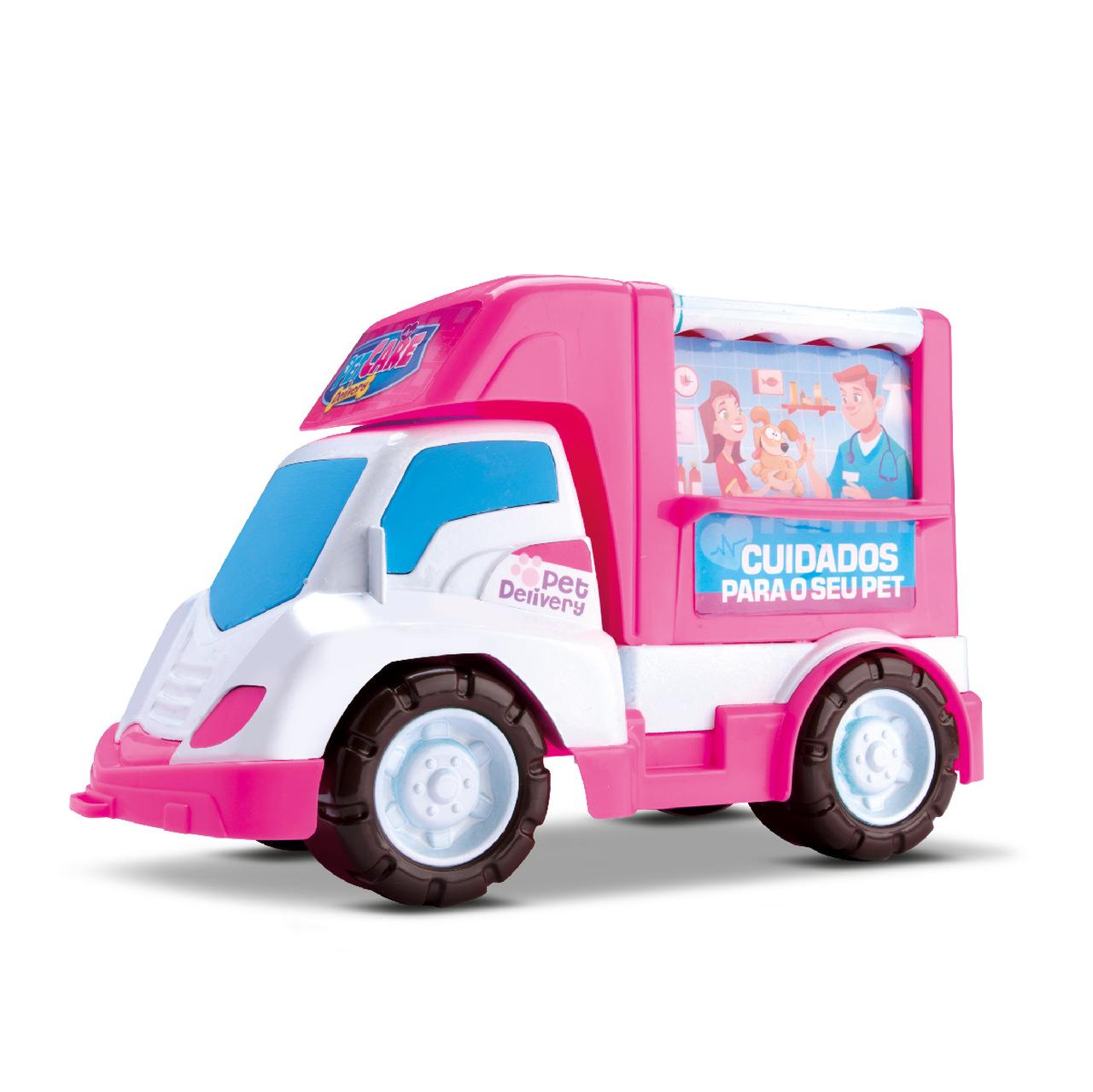 Carrinho Veterinário Pet Care Delivery Samba Toys