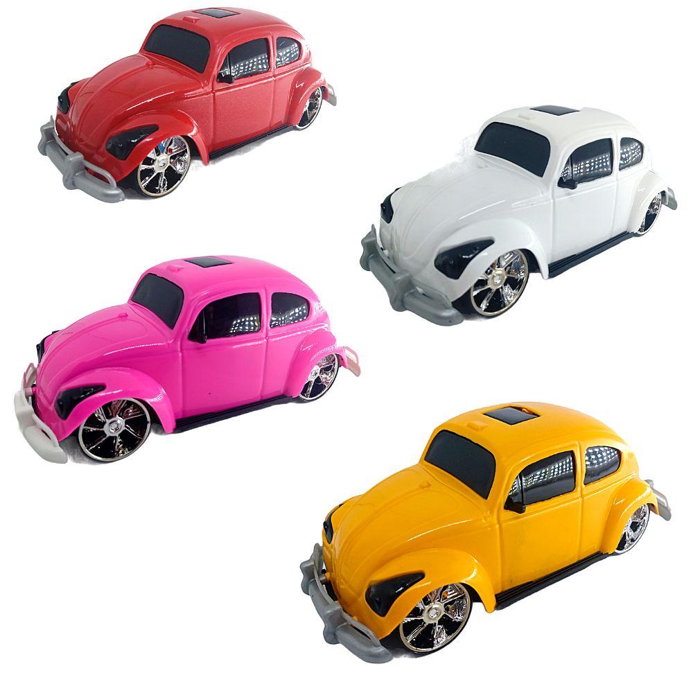 Carro de Brinqueco Fuska Junior C/ 4 modelos