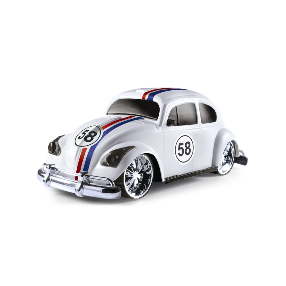Carro de Brinquedo Branco Concept Car Hobby Retrô
