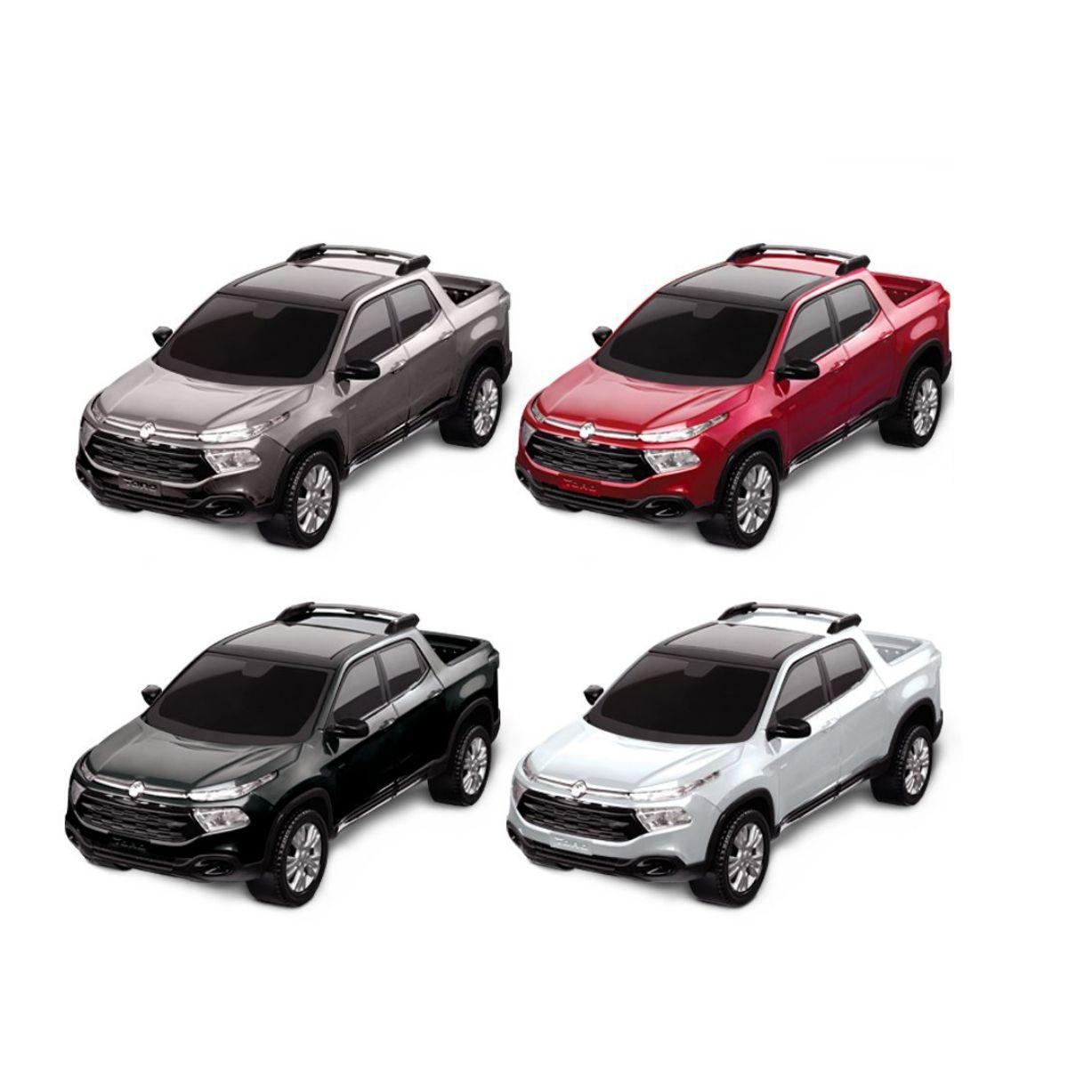 Carro de Brinquedo Fiat Toro Caminhonete de Plástico
