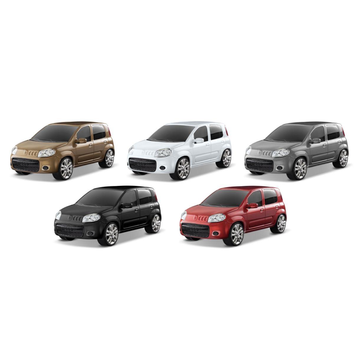 Carro de brinquedo Fiat Uno Attractive Variadas Cores