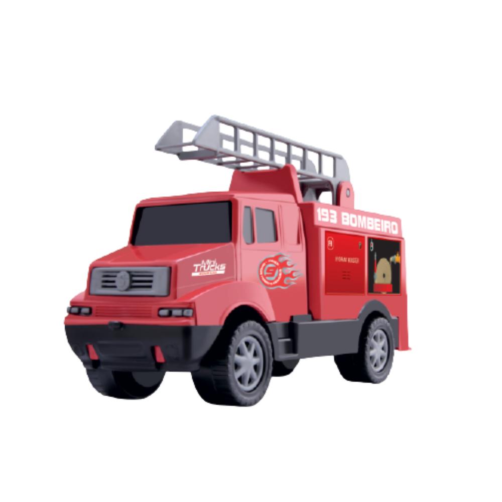 Carro Mini Truck Bombeiro - Samba Toys