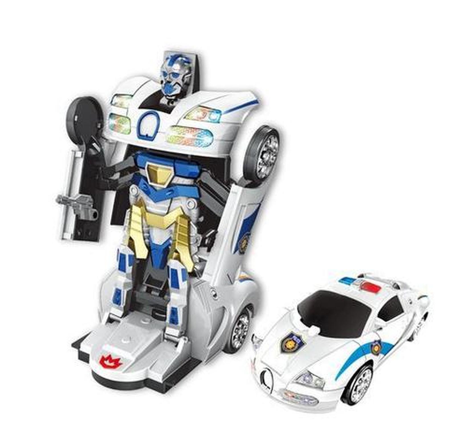 Carro Robo Bate e Volta Polícia