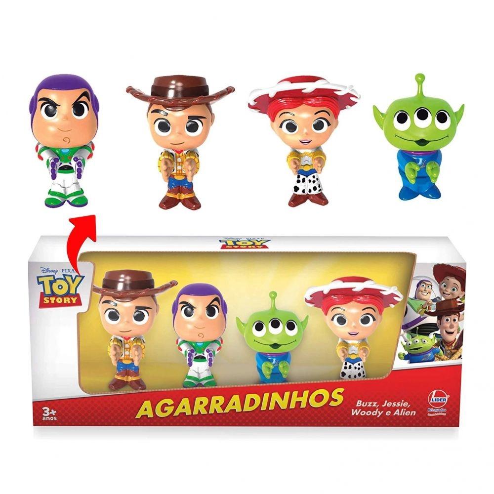 Coleção Bonecos Agarradinhos Toy Story Lider Brinquedos