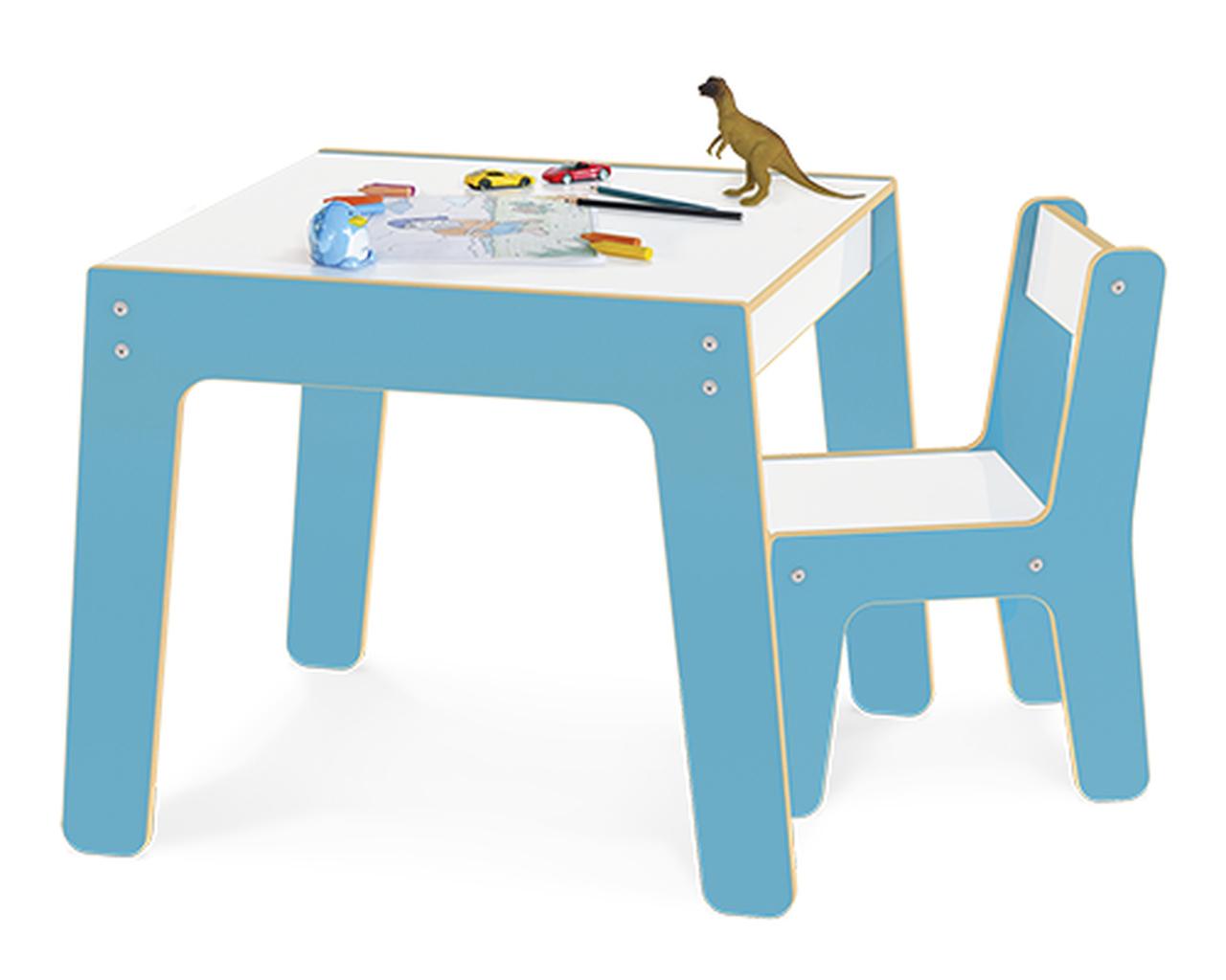 Conjunto Mesa e Cadeira Infantil Junges