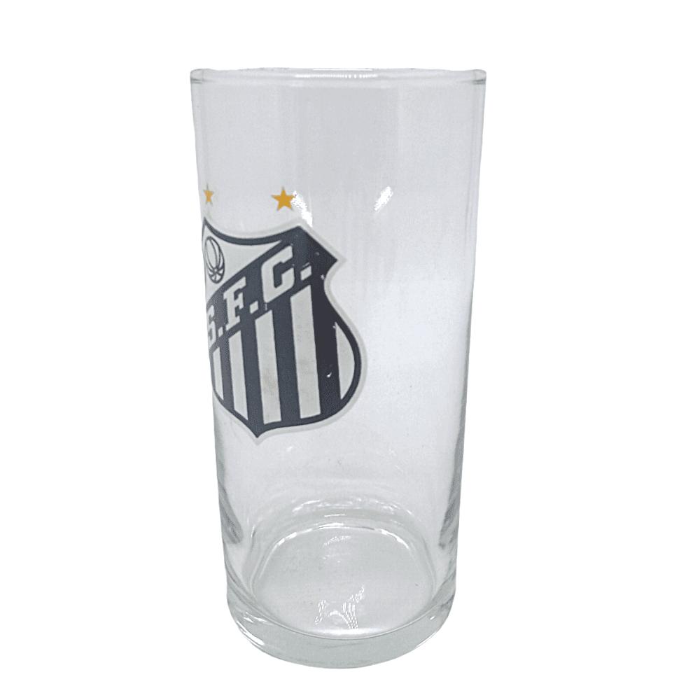 Copo de Vidro Time Santos Long Drink Futebol