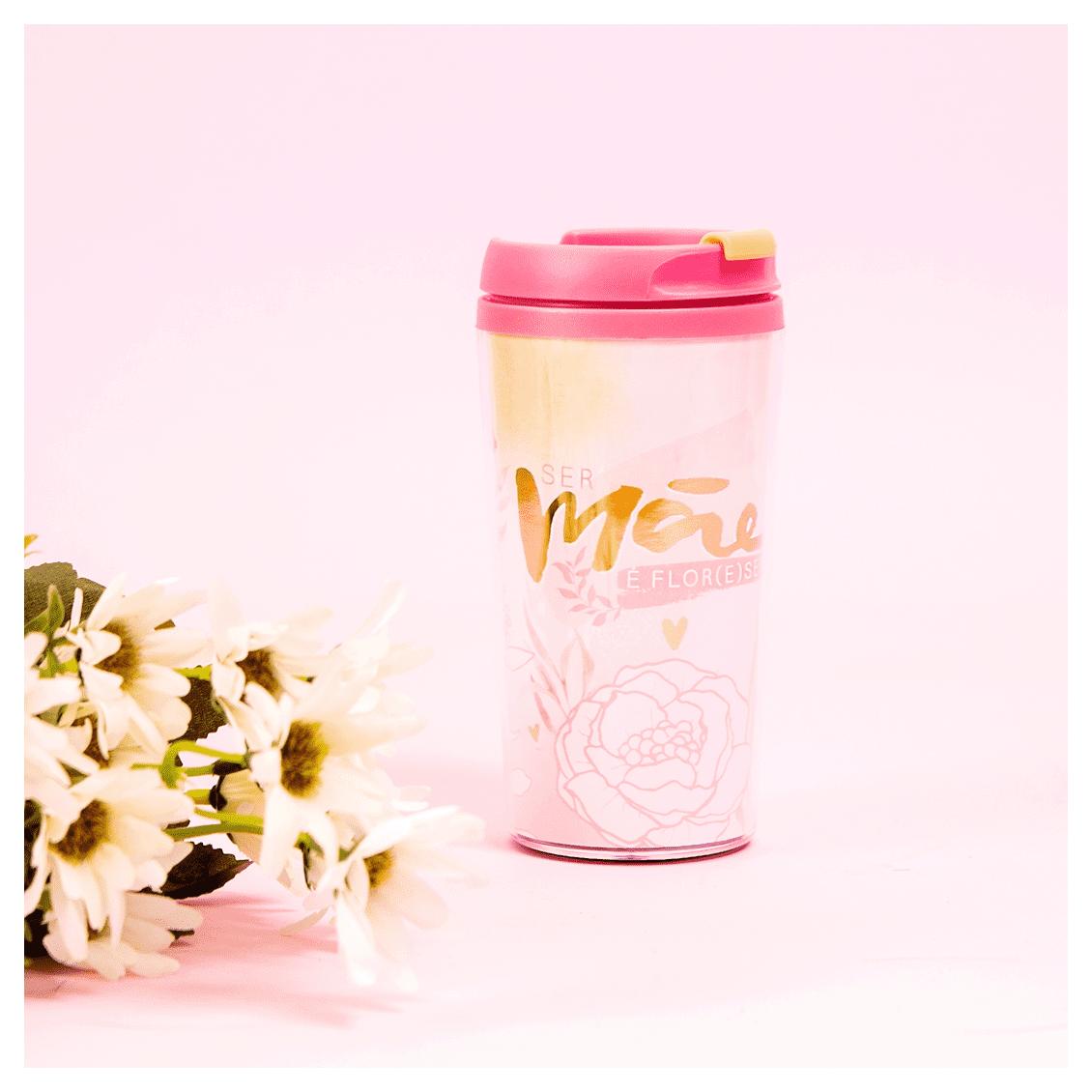 Copo Termico Pop Florescer Mae - Uatt