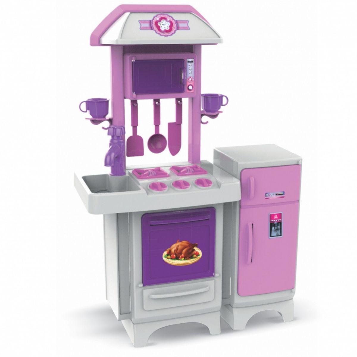 Cozinha Completa Sem água Rosa Magic