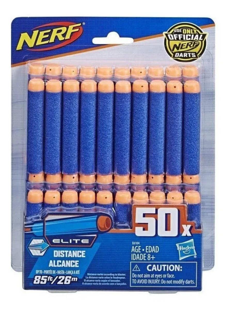 Dardos Para Arma De Brinquedo Nerf Elite 50 Unidades hasbro