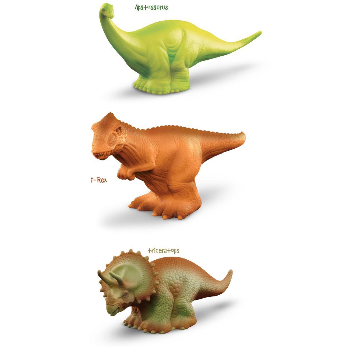 Dinossauro de brinquedo Coleção Dino Miniaturas de Plástico