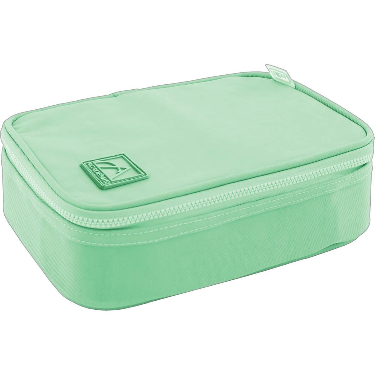 Estojo Box Academie Verde - Tilibra
