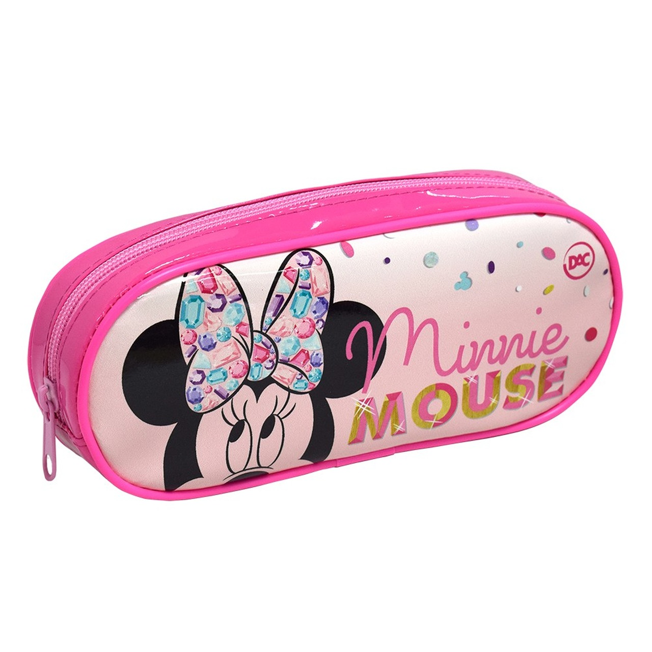 Estojo Minnie Mouse Teen Rosa DAC