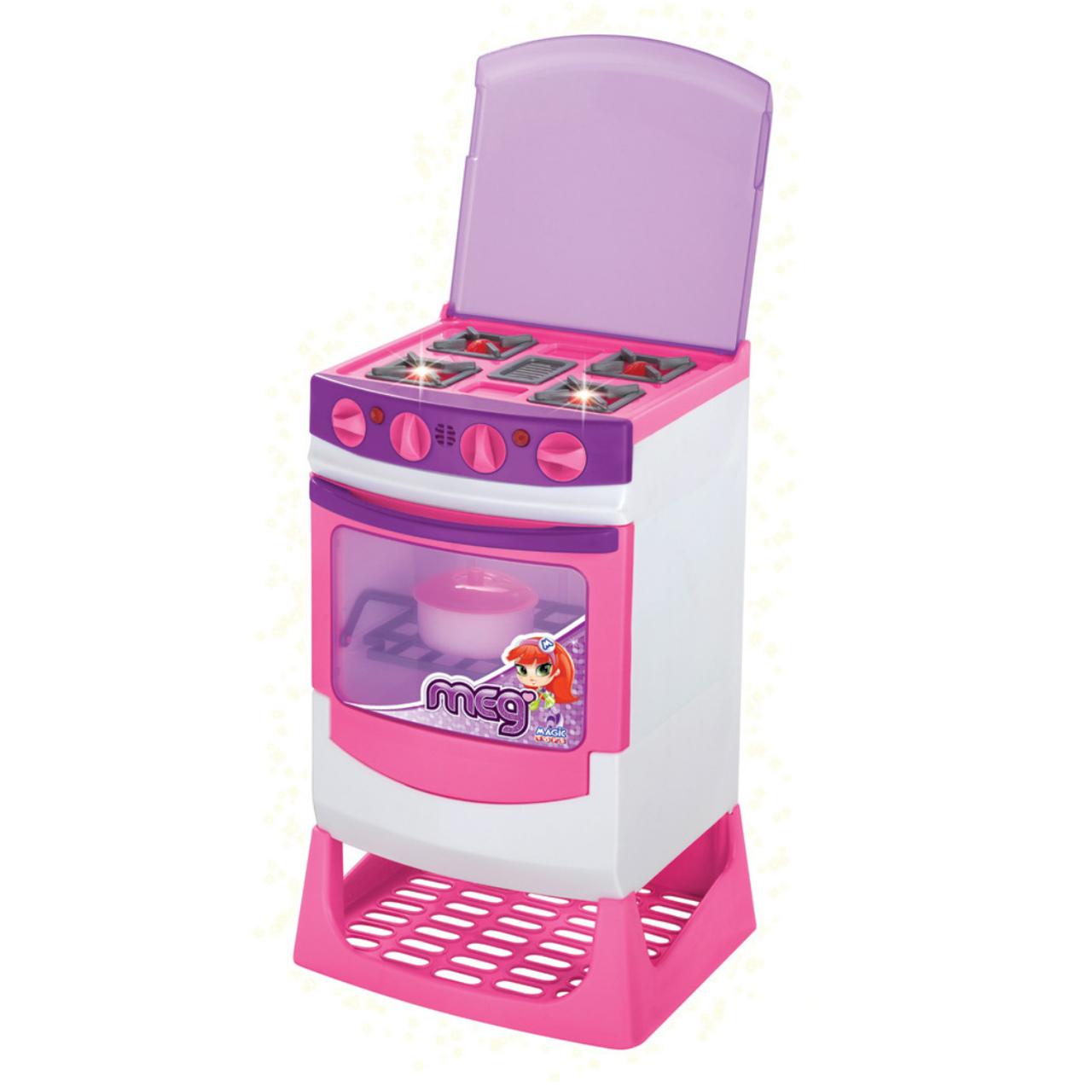 Fogão Master Chef Eletrônico de Brinquedo Meg