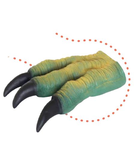 Brinquedo Fantoche Dinossauro Garra do Tiranossauro Rex de Vinil - Db Play