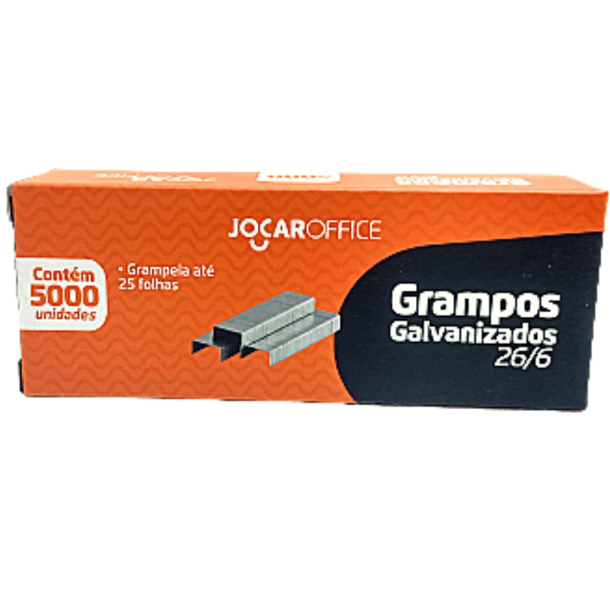 Grampos 26/6 Galvanizado 5000 unidades GRAMPO 93010