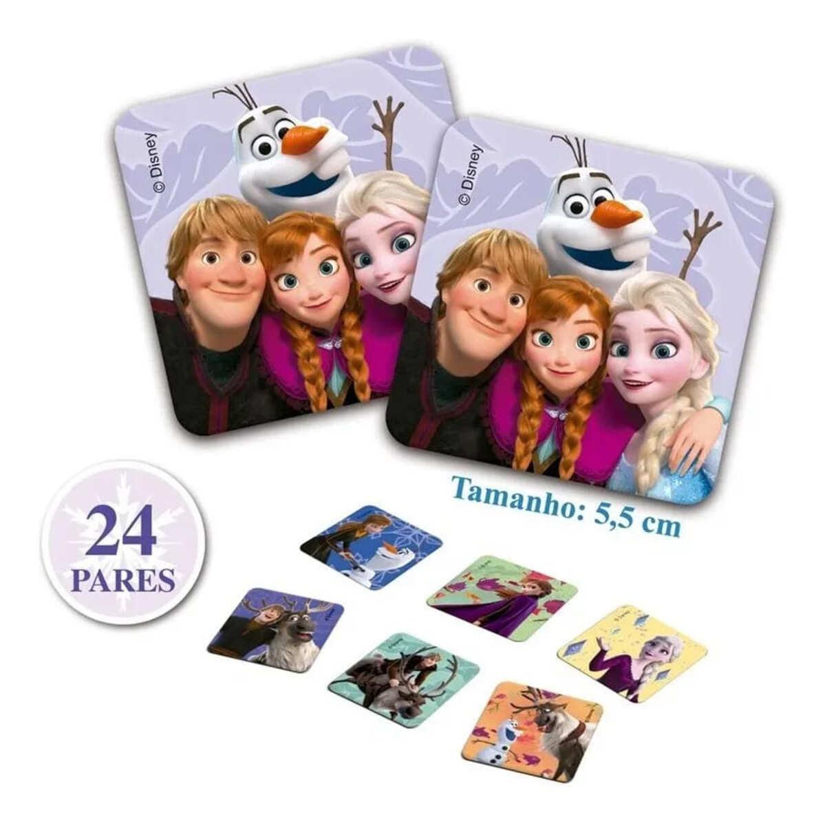Jogo da Memoria Disney Personagens Infantil Educativo Toyster hasbro