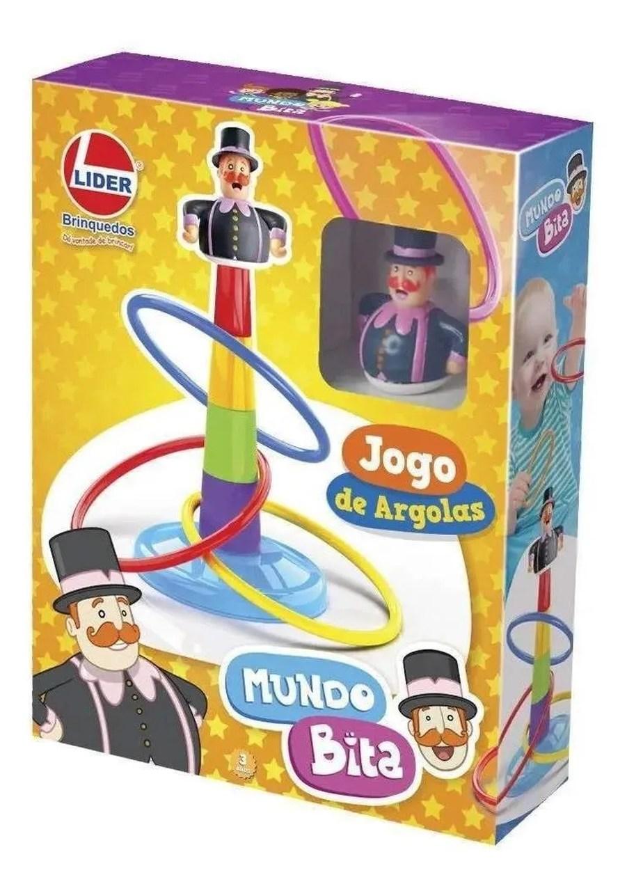 Jogo de Argolas Mundo Bita Lider Brinquedos
