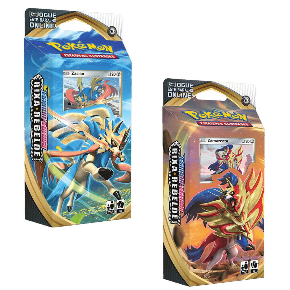 Jogo de cartas Pokémon Starter Deck Rixa Rebelde