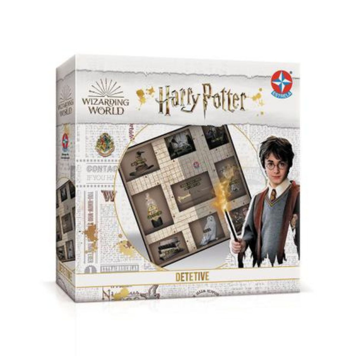 Jogo de investigação Detetive Harry Potter Super Divertido - Estrela