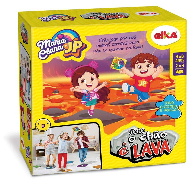 Jogo de mesa Jogo o Chão é Lava - Maria Clara e JP Elka