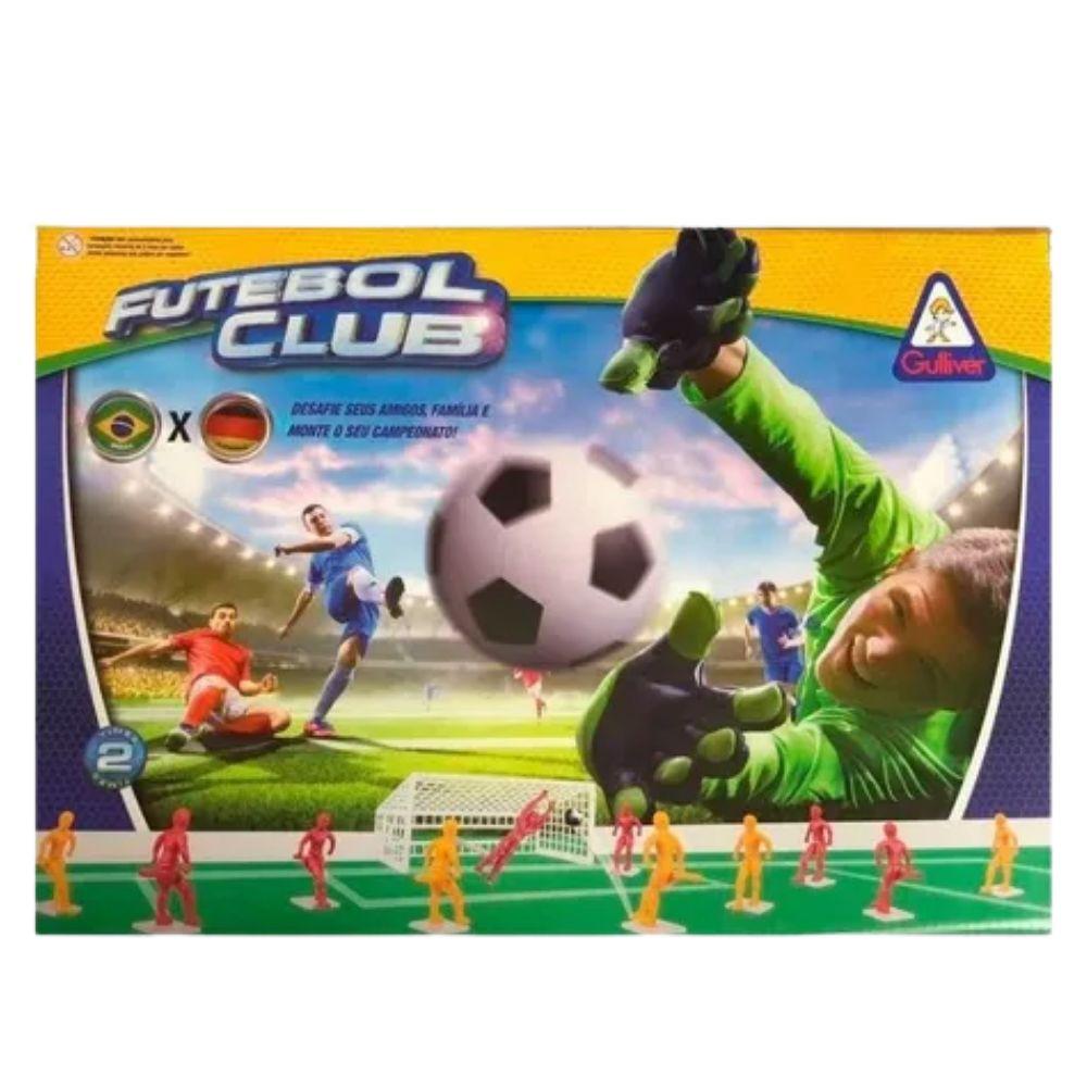 Jogo Futebol Club com 2 Seleções - Brasil X Alemanha - Gulliver