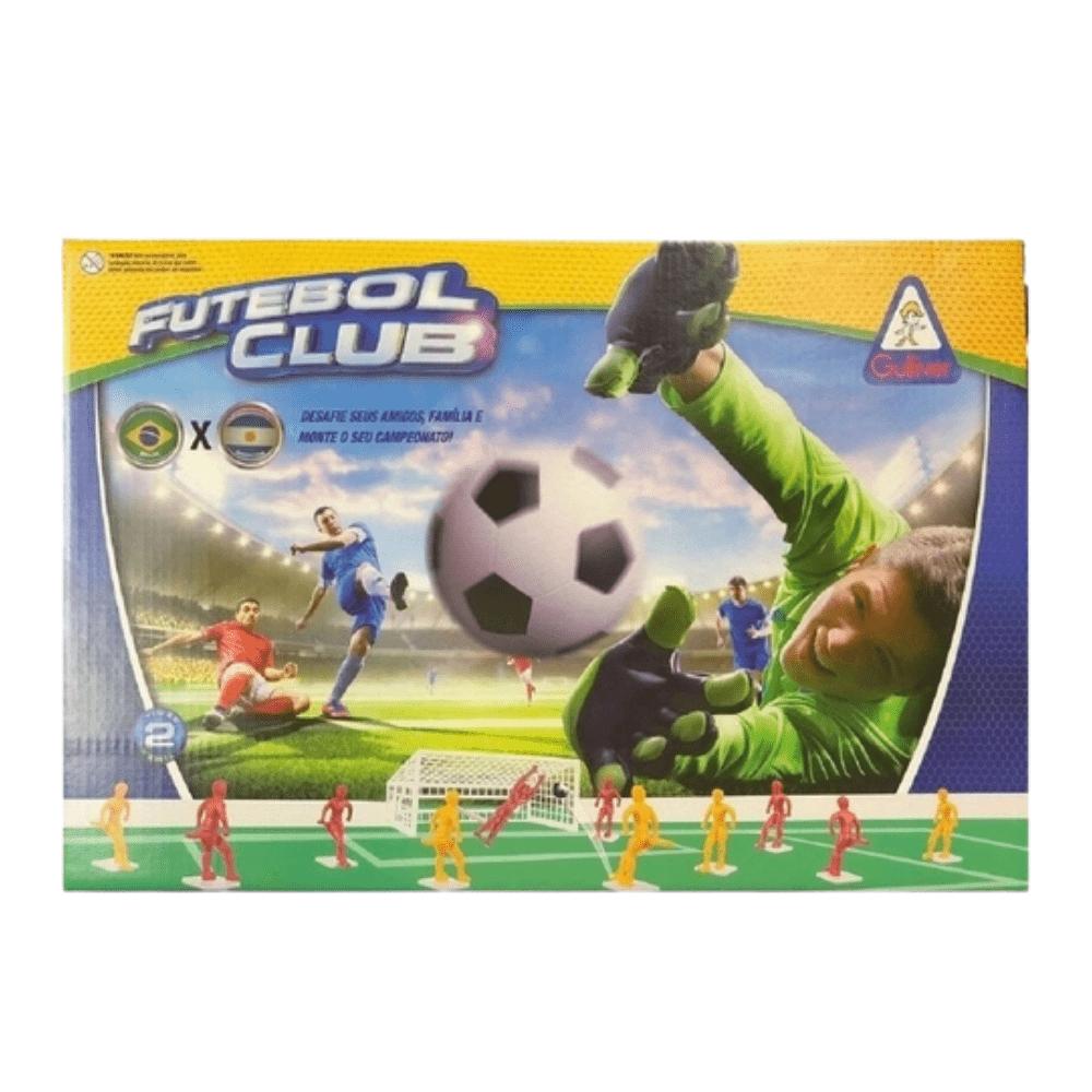 Jogo Futebol Club com 2 Seleções - Brasil X Argentina - Gulliver
