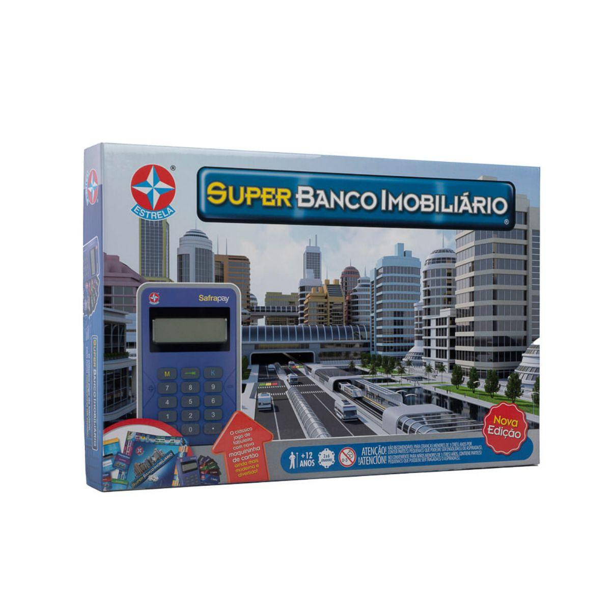 Jogo Super Banco Imobiliário de Negócios Nova Edição - Estrela