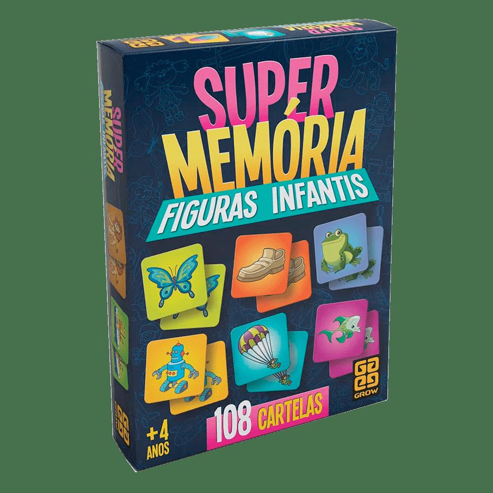 Jogo Super Memória Figuras Infantis Grow