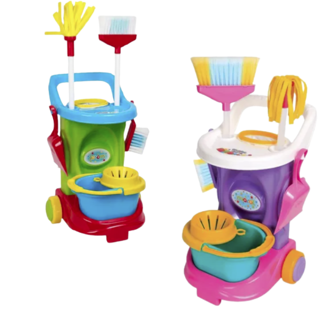 Kit De Limpeza Infantil Cleaning Trolley - Maral