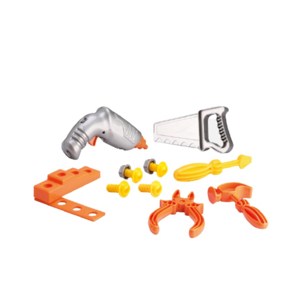 Kit Mega Oficina De Ferramentas Brinquedo - Samba Toys