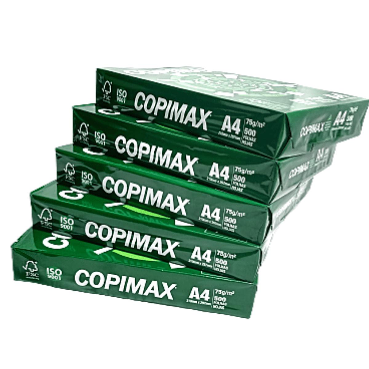 Kit Papel Sulfite CopiMax c/ 2500 folhas