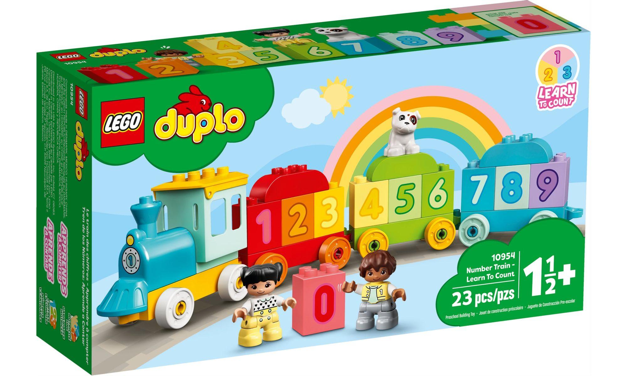 LEGO DUPLO - Trem dos Números - Aprender a Contar
