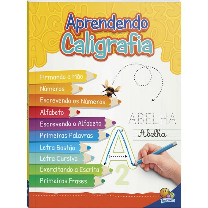 Livro Aprendendo Caligrafia Volume unico - Todolivro