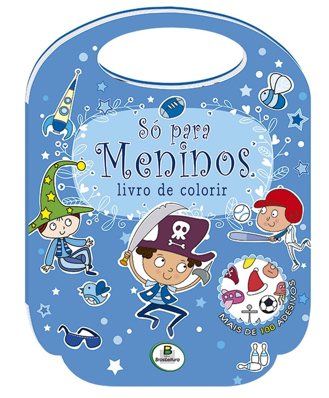 Livro de Colorir - Só Para Meninos Todolivro