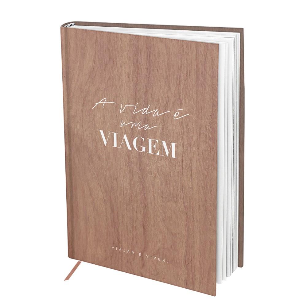 Livro de Viagens Premium 160 Folhas DAC