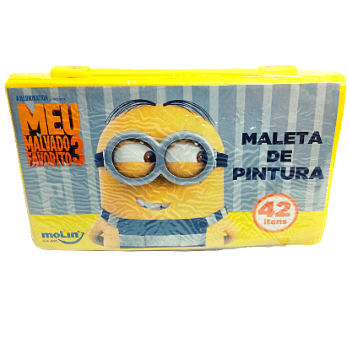 Maleta de pintura Minions 42 itens - Molin