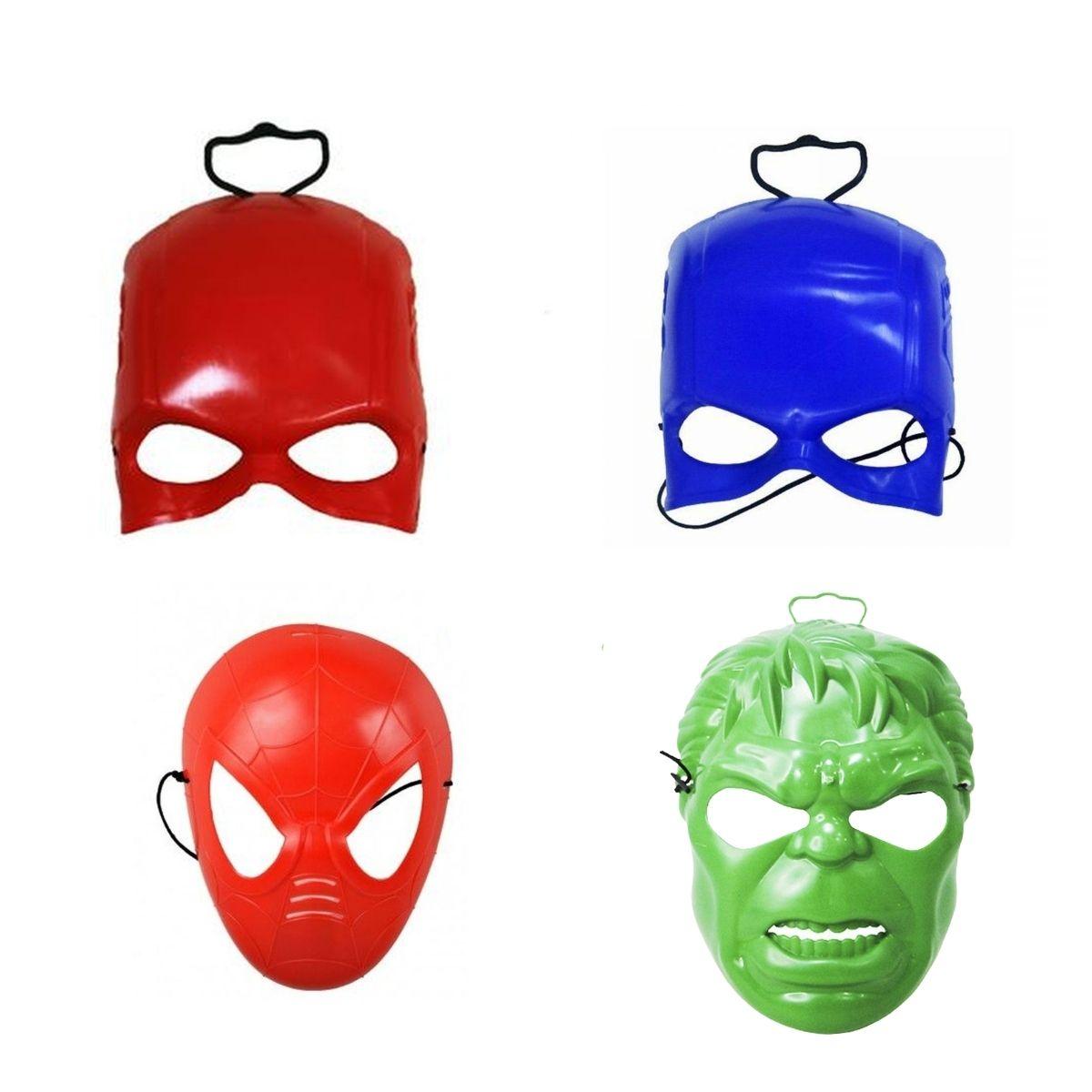 Máscara Super Heróis Fantasia Infantil Toy Master