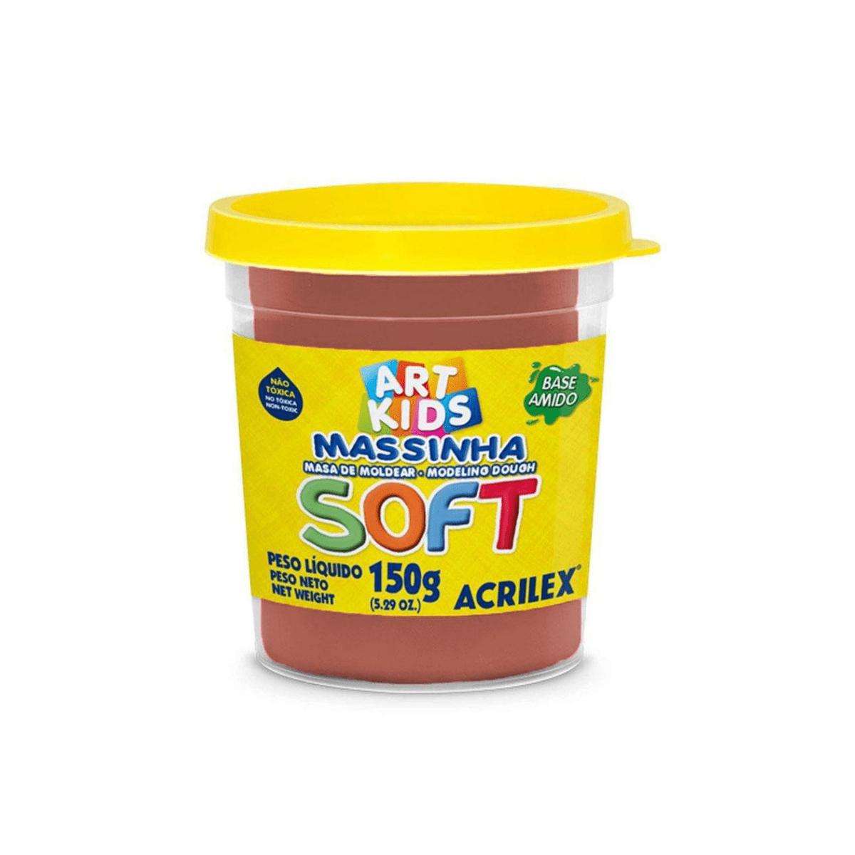 Massinha Pote 150g Soft - Acrilex