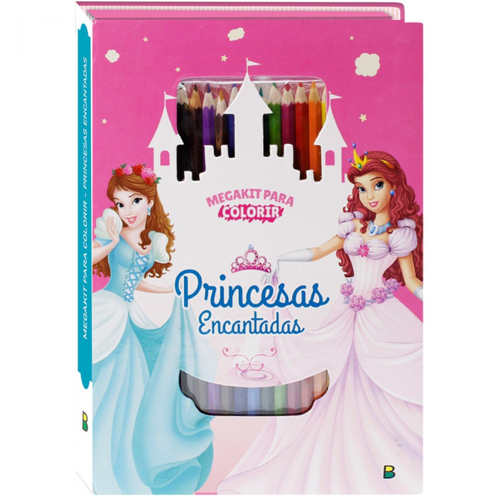 Megakit Para Colorir: Princesas Encantadas Todolivro