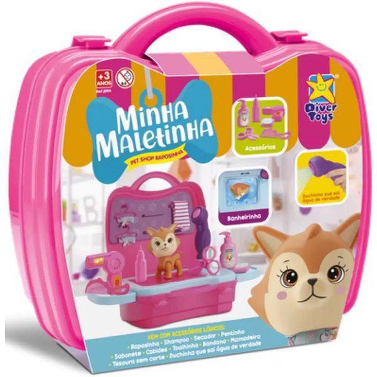 Minha Maletinha Pet Shop Raposinha Divertoys - Ref.: 8144