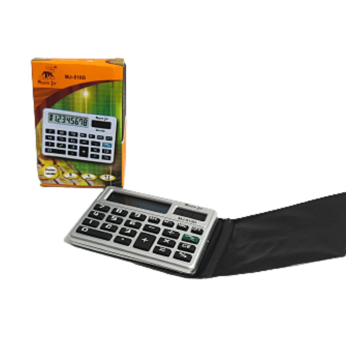 Calculadora de bolso Mini Portátil Eletrônica 8 dígitos Mj - 510D