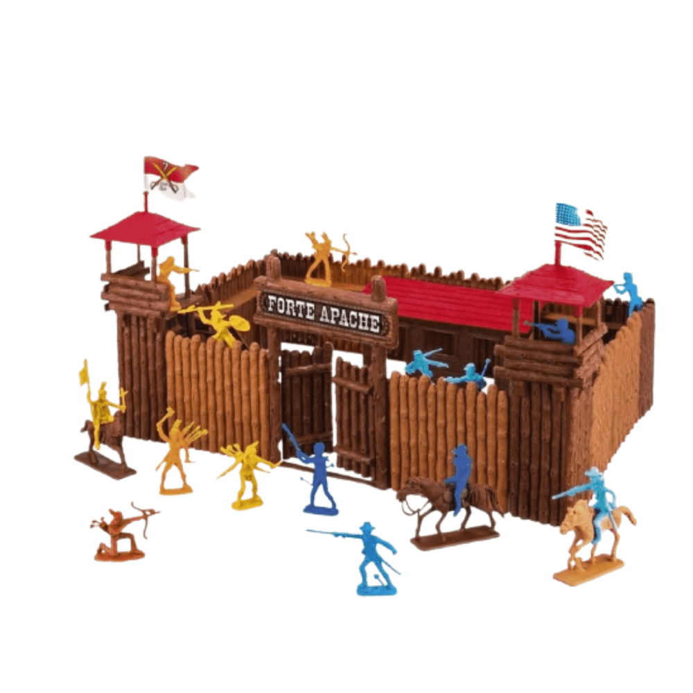 Miniatura Colecionável Forte Apache Batalha Junior - Gulliver