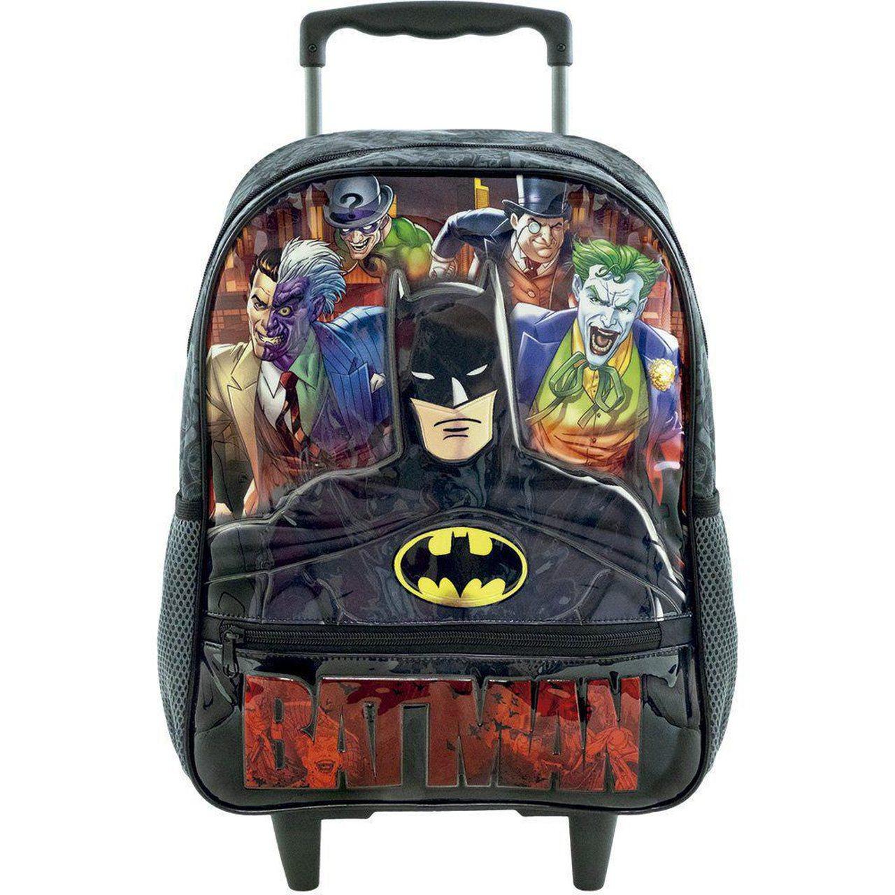 Mochila de Rodinhas 14 Batman Danger