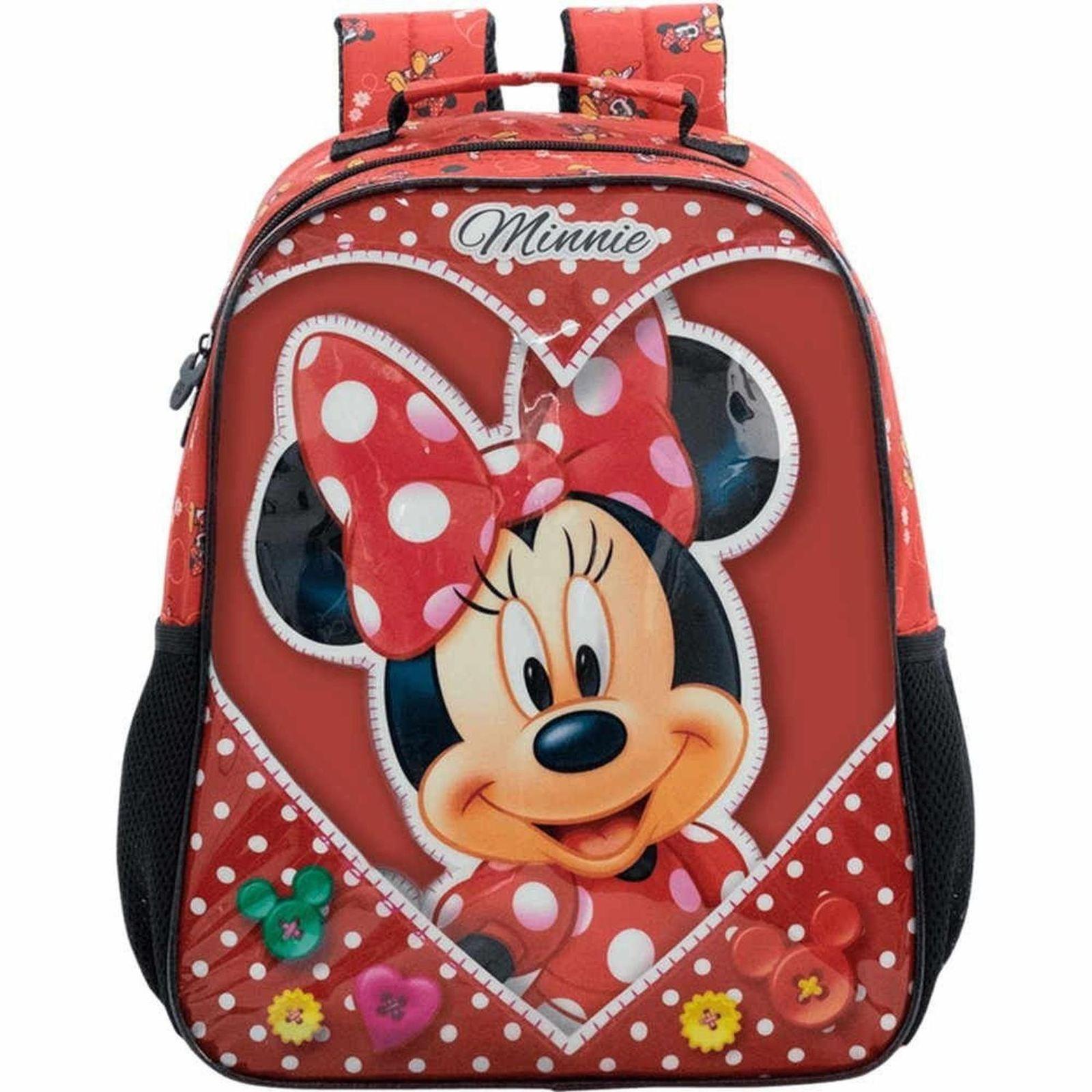 Mochila Infantil Minnie Mouse Love  TAM. 14 Xeryus