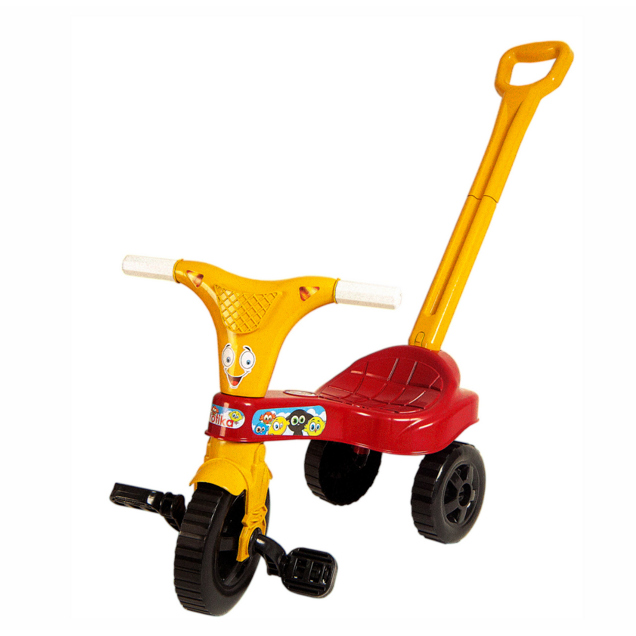 Motika Vermelha Tico Tico Triciclo c/ Haste